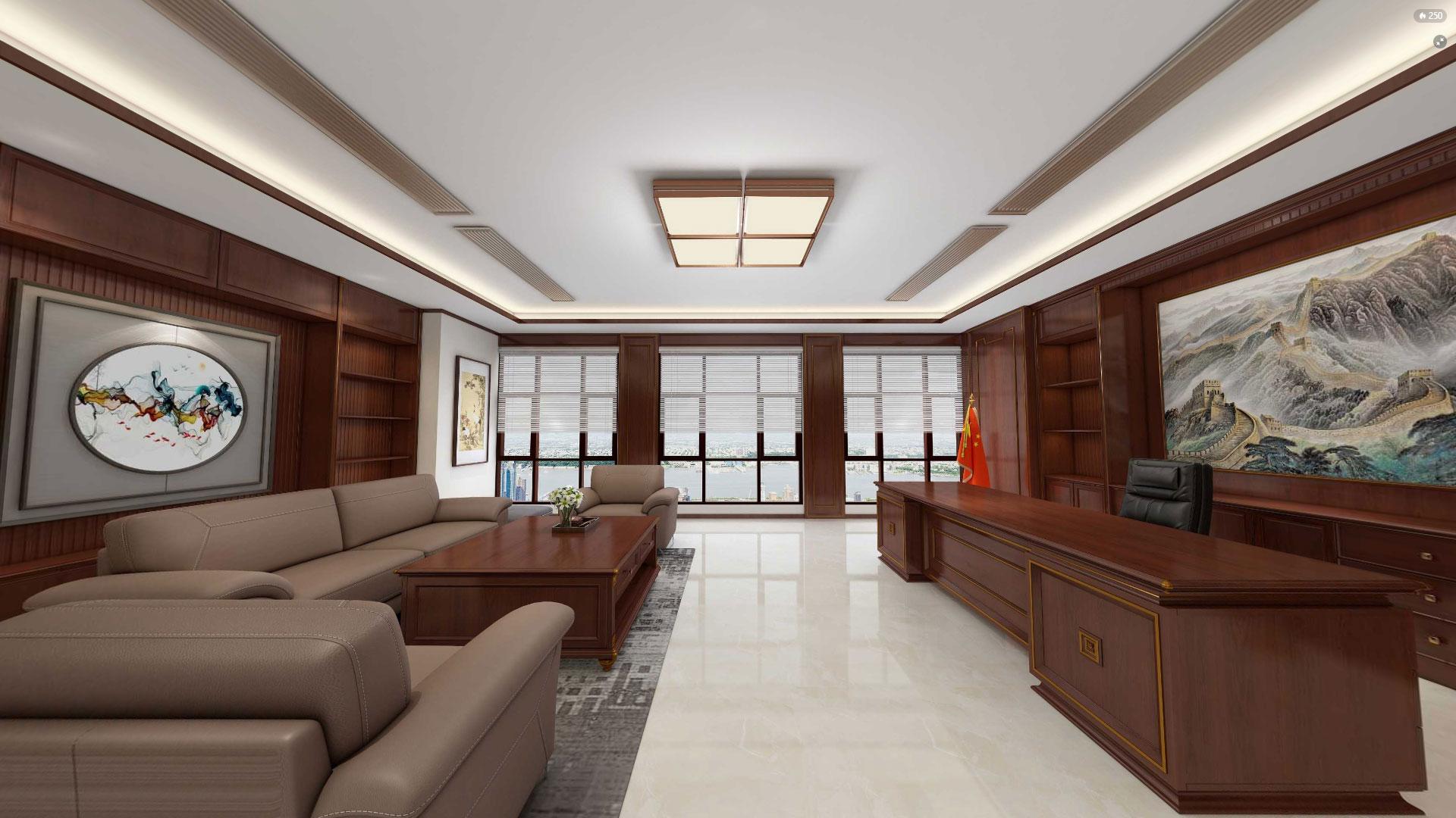 美式风格办公室